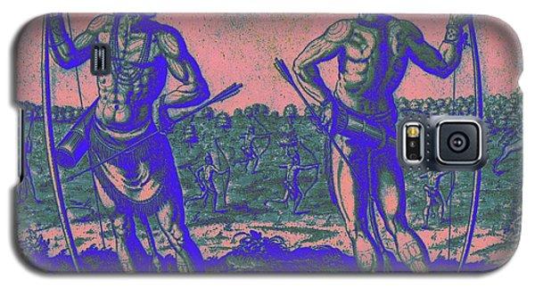 Weroans Of Virginia 1590 Galaxy S5 Case by Peter Gumaer Ogden