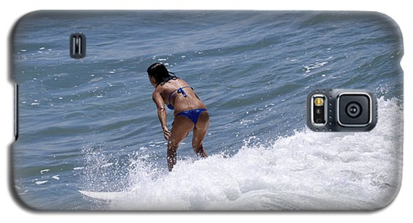 West Coast Surfer Girl Galaxy S5 Case by Duncan Selby