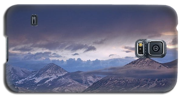 Galaxy S5 Case featuring the photograph West Elk Mountains First Light by Eric Rundle