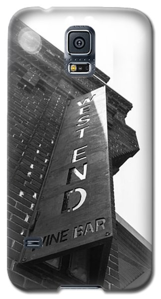 Galaxy S5 Case featuring the photograph West End by Wade Brooks