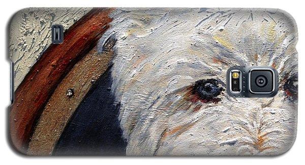 West Highland Terrier Dog Portrait Galaxy S5 Case