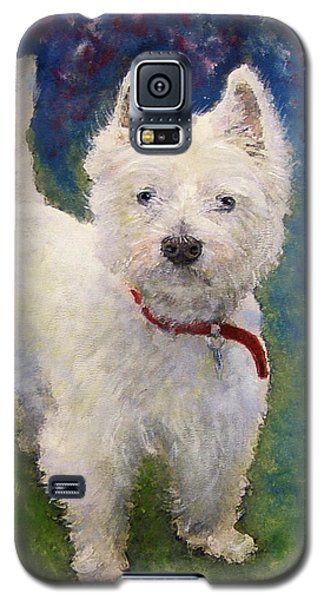 West Highland Terrier Holly Galaxy S5 Case