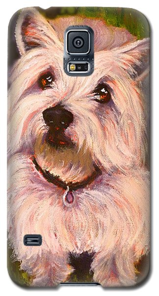West Highland Terrier Reporting For Duty Galaxy S5 Case