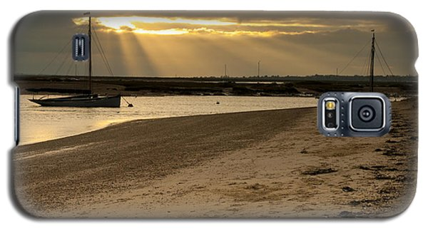 Galaxy S5 Case featuring the photograph West Mersea Beach by David Isaacson