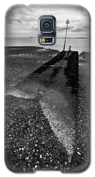 Galaxy S5 Case featuring the photograph West Mersea Sea View by David Isaacson