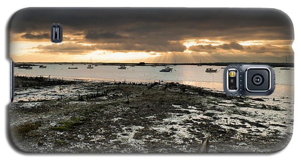 Galaxy S5 Case featuring the photograph West Mersea View by David Isaacson
