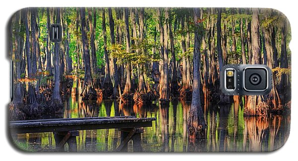 West Monroe Swamp Dock Galaxy S5 Case by Ester  Rogers