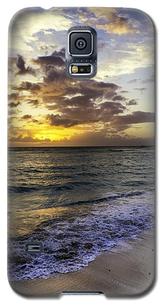 Galaxy S5 Case featuring the photograph West Oahu Sunset by Rob Tullis
