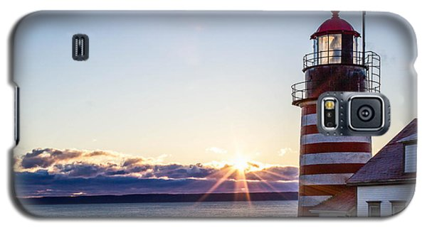 West Quoddy Head Lighthouse Sunrise  Galaxy S5 Case