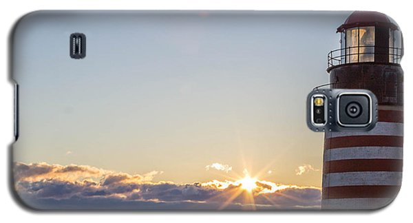 West Quoddy Lighthouse Sunrise Galaxy S5 Case