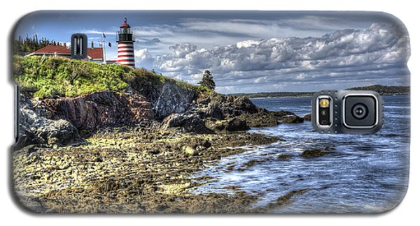 West Quoddy Lubec Maine Lighthouse Galaxy S5 Case by Shawn Everhart