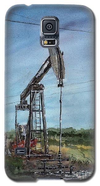 West Texas Pumpjack Galaxy S5 Case by Tim Oliver