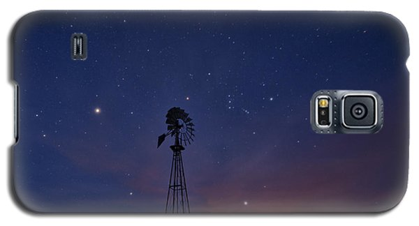 West Texas Sky Galaxy S5 Case by Melany Sarafis