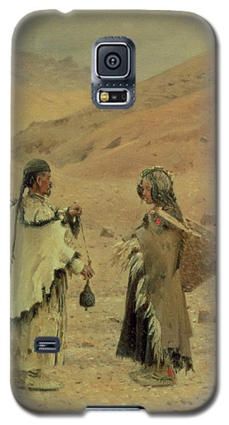 West Tibetans, 1875 Oil On Canvas Galaxy S5 Case