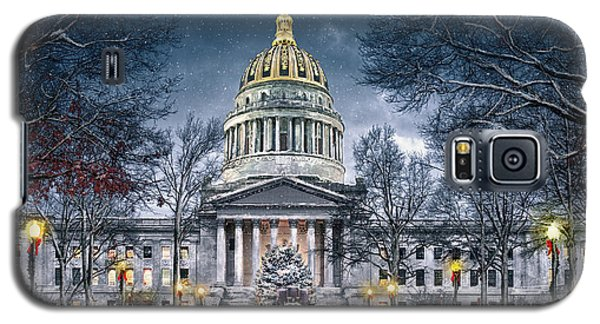 West Virginia State Capitol Galaxy S5 Case by Mary Almond