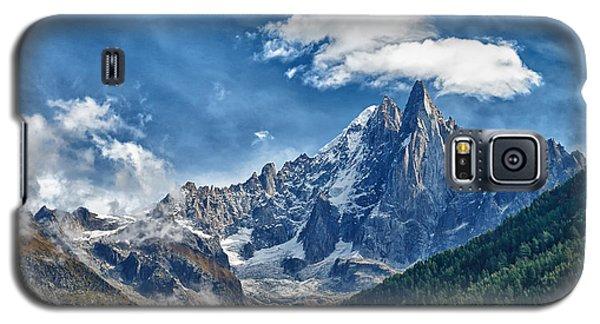 Western Alps In Chamonix Galaxy S5 Case by Juergen Klust