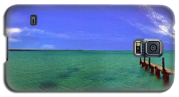 Galaxy S5 Case featuring the photograph Western Australia Busselton Jetty by David Zanzinger