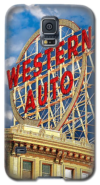 Western Auto Sign Downtown Kansas City Galaxy S5 Case
