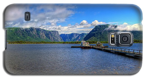 Western Brook Fjord. Galaxy S5 Case