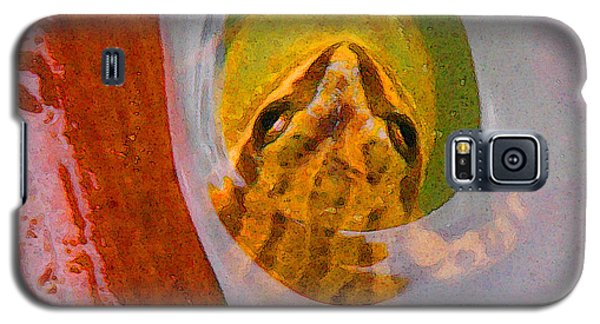 Western Chorus Frog I Galaxy S5 Case by Anastasia Savage Ealy