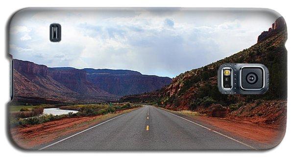 Western Colorado Drive Galaxy S5 Case