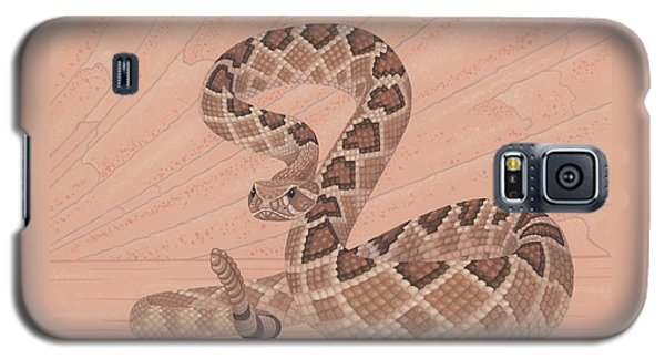 Western Diamondback Rattlesnake Galaxy S5 Case by Nathan Marcy