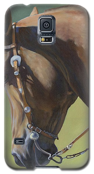 Galaxy S5 Case featuring the painting Western Elegance by Alecia Underhill