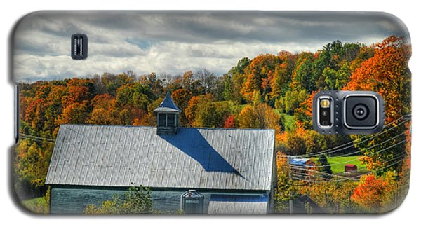 Western Maine Barn Galaxy S5 Case