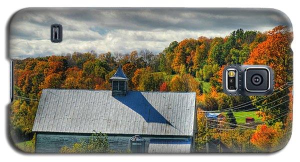 Western Maine Barn Galaxy S5 Case by Alana Ranney