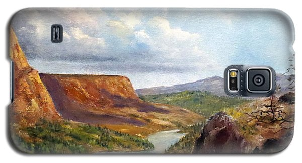 Western River Canyon Galaxy S5 Case