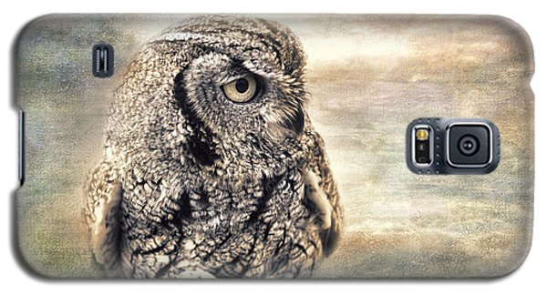 Western Screech Owl Galaxy S5 Case
