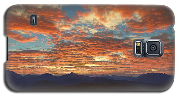 Western Sunset Galaxy S5 Case