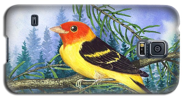 Western Tanager In Yosemite Galaxy S5 Case