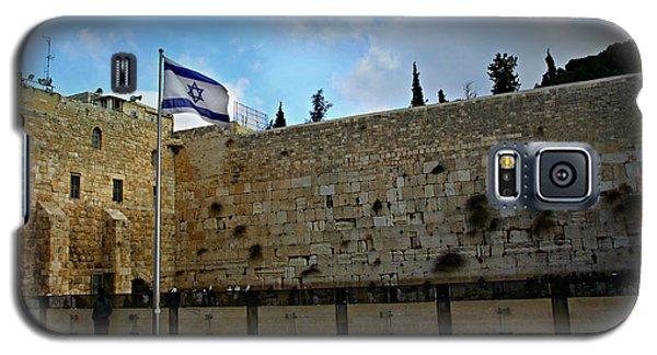 Western Wall And Israeli Flag Galaxy S5 Case