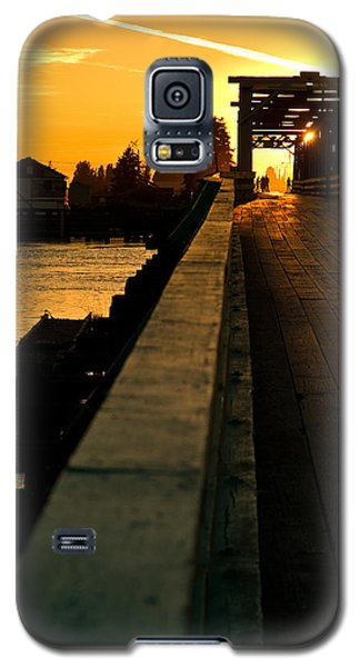 Westham Island Bridge Galaxy S5 Case