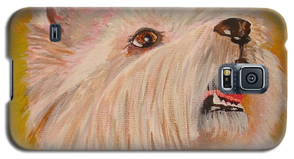 Westie Portrait Galaxy S5 Case