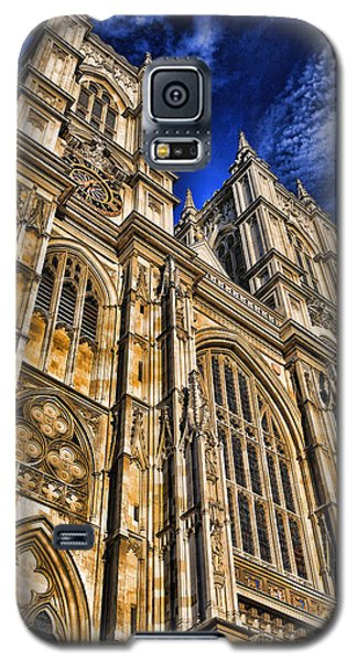 Westminster Abbey West Front Galaxy S5 Case by Stephen Stookey