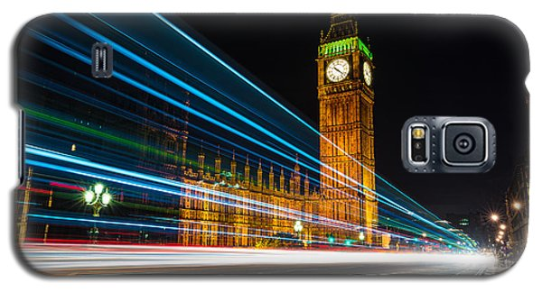 Westminster Light Trails Galaxy S5 Case by Matt Malloy