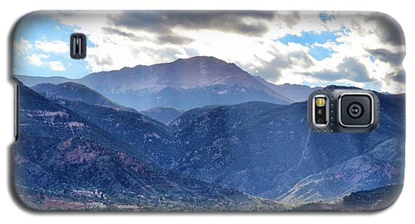 Galaxy S5 Case featuring the photograph Westside Colorado Springs by Clarice  Lakota