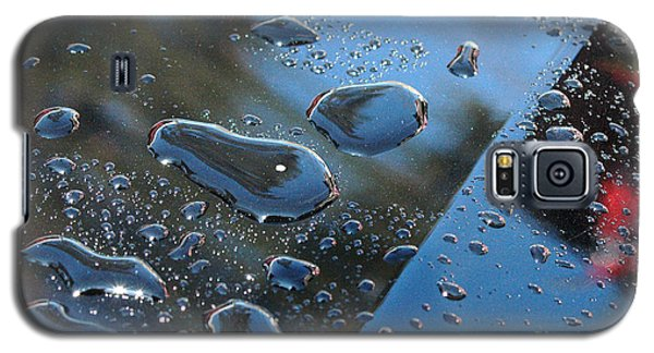 Galaxy S5 Case featuring the photograph Wet Car by Randi Grace Nilsberg