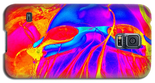 Wet Flames Of Hair Galaxy S5 Case by Heidi Manly
