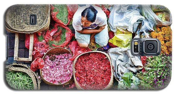 Wet Market In Ubud Galaxy S5 Case by Yew Kwang