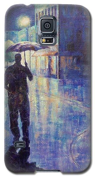 Wet Night Galaxy S5 Case by Susan DeLain
