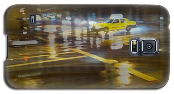 Galaxy S5 Case featuring the photograph Wet Pavement by Alex Lapidus