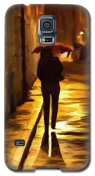 Wet Rainy Night Galaxy S5 Case by Michael Pickett
