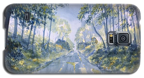 Wet Road In Woldgate Galaxy S5 Case