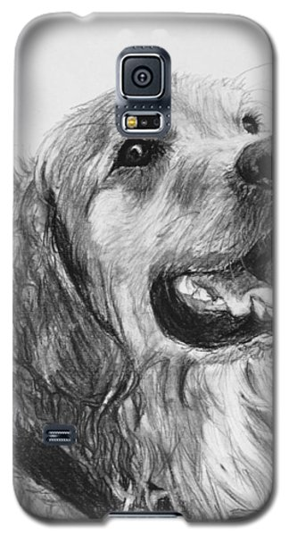 Wet Smiling Golden Retriever Shane Galaxy S5 Case