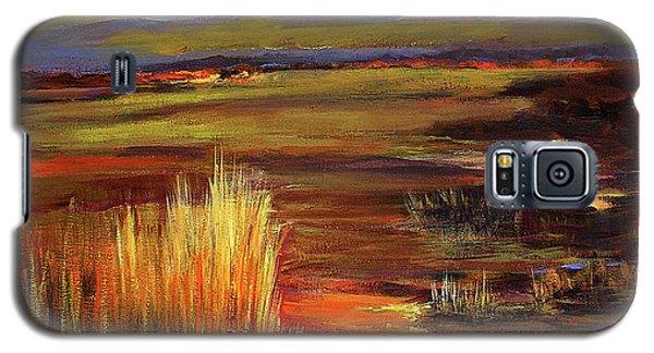 Wetlands Sunset Iv Galaxy S5 Case