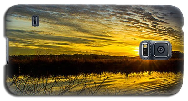 Wetlands Sunset Galaxy S5 Case