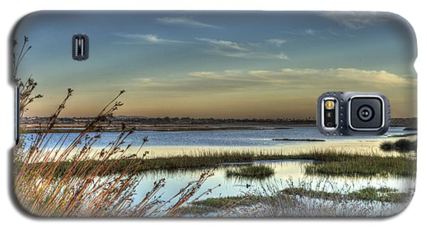 Wetlands Sunset Galaxy S5 Case by Richard Stephen
